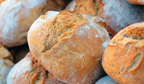 Leckeres Brot, zubereitet mit backpulver