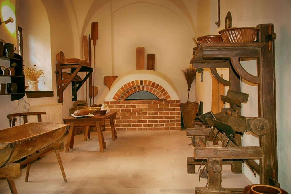 Einer der ältesten Brotbackautomaten